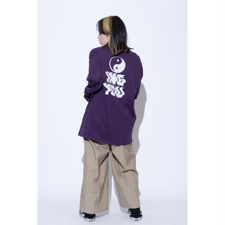 ING YOU back print long sleeve T-shirts [ PPL ]