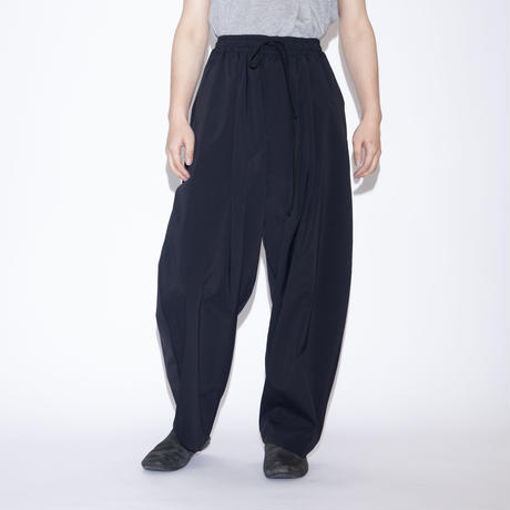 my beautiful landlet TECHNO WIDE EASY PANTS [ BLK ]