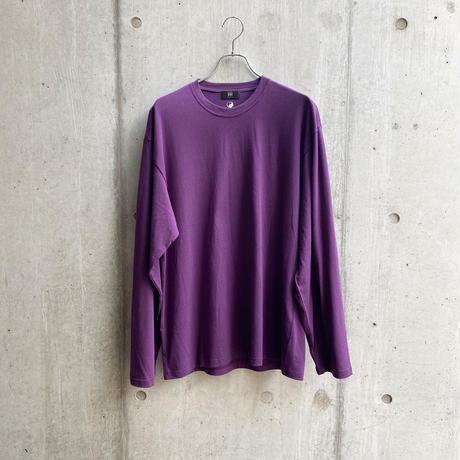 ING YOU - back print long sleeve T-shirts [ PURPLE ]