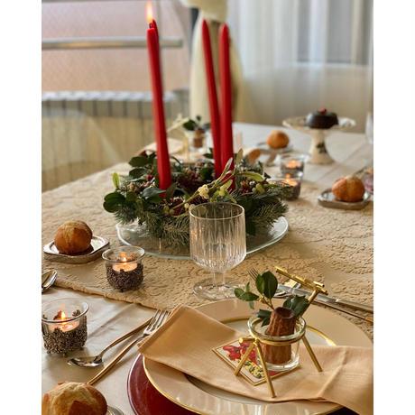 【丸山洋子テーブルクリエーション】ホームパーティーのための テーブルコーディネート オンライン講座 ベーシックコース
