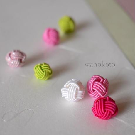 【ZOOMオンラインレッスン】12/18水引玉結びの紅白ピック