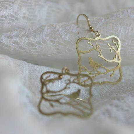 ピアス Rima   Silver / Gold