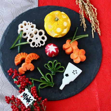 【zoomオンラインレッスン】12/15  お野菜の飾り切りレッスン