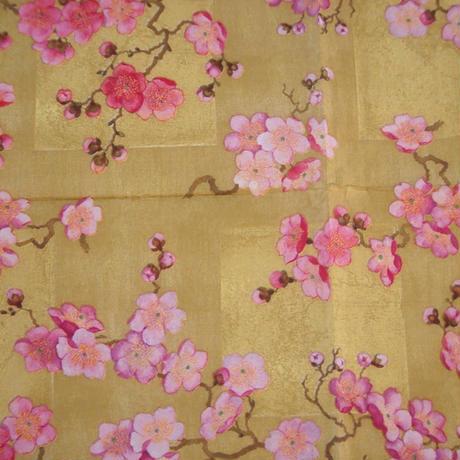 Caspari ペーパーナプキン Plum Blossom Gold