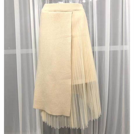 《予約販売》ニットレーススカート