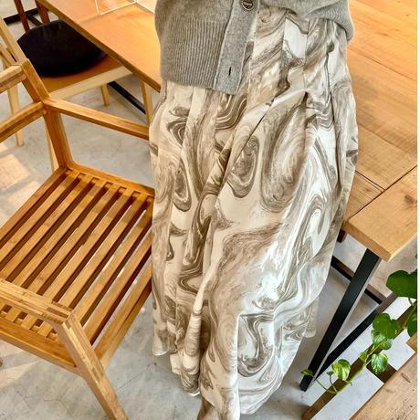 《予約販売》ピンタックロングスカート