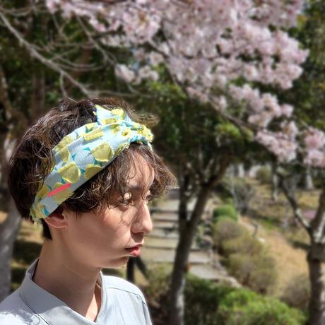 - Tsuki -  POLSヘアバンド  col :レモン