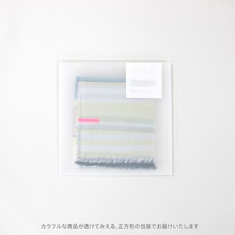 極細コットンストール Sサイズ col:ブルー  播州織  -  SBS-0002- BLUE