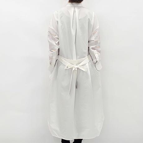 -  SANKAKU-YANE  -       シャツワンピース  col:ホワイト