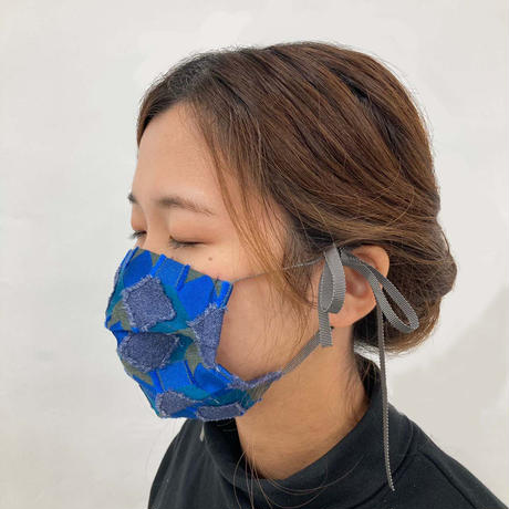 POLSマスク(ケース付き)  col:ブルー