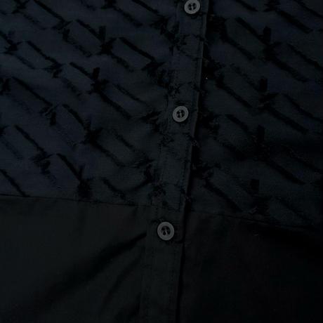 -  HAKO  -      シャツ   col:ブラック