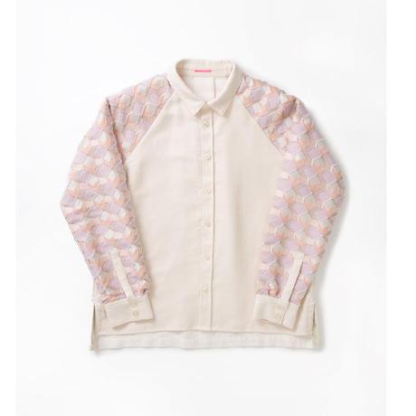 -  UROKO  -      シャツ   col:ピンク