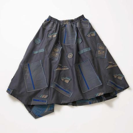 -  Sanchi  -            スカート  col:ネイビー