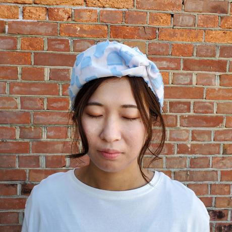 - Tsuki -  POLSヘアバンド  col :ピンクブルー