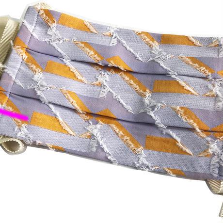 ポルスマスク C/#オレンジ 播州織 洗えるマスク MSK-20AP-01-ORANGE