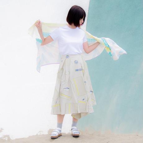 -  Sanchi  -            スカート  col:ライトカーキ