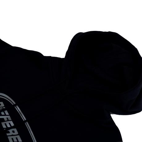 REFLECTOR HOODIE 【black】