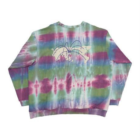 Tie dye big sweat【Mix】