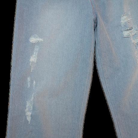 DAMAGE DENIM PANTS【BLUE】