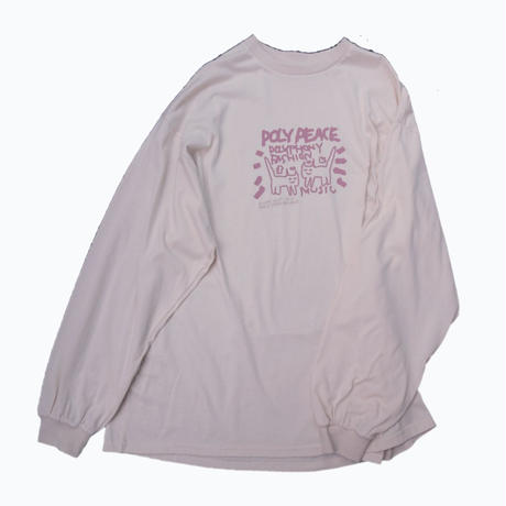 POLY PEACE LONG T 【BEIGE】