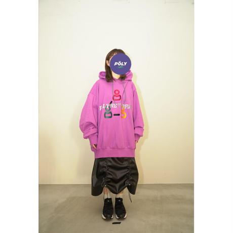Super big gaming hoodie【Pink】