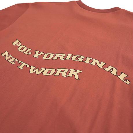 Network graphic longT【Orange】