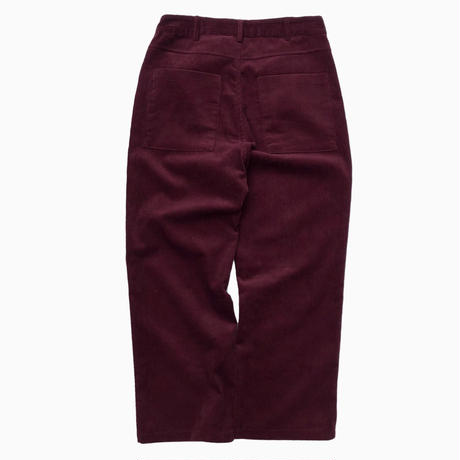 CORDUROY PANTS [WINE]