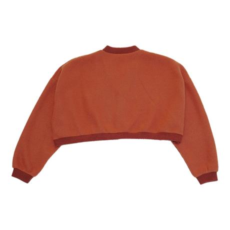 KNIT CARDIGAN【apricot orange】