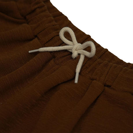 Knit half pants【Brown】