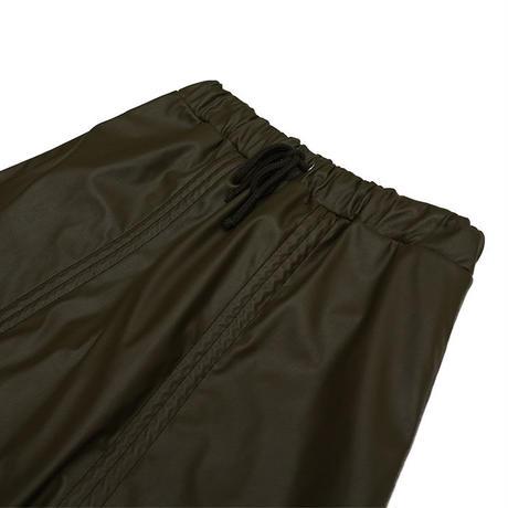 Leather skirt【Khaki】