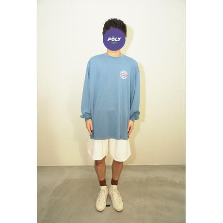 Network graphic longT【Blue】
