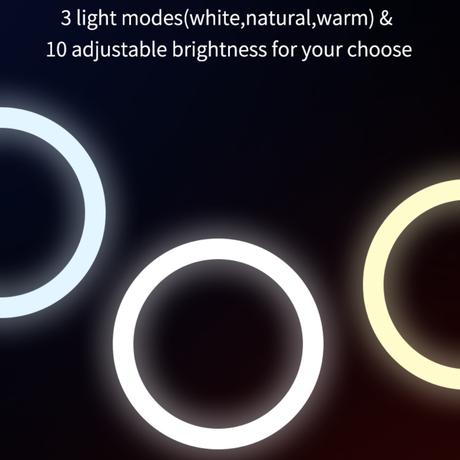 Foldable ring light   収納式リングライト