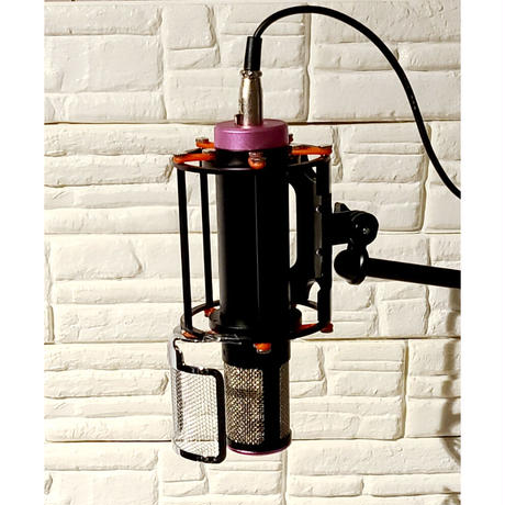 Capsule large diaphragm condenser microphone カプセル型ダイヤフラムコンデンサーマイク
