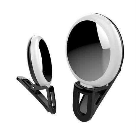 Selfie light m&m セルカライト ミラー付き
