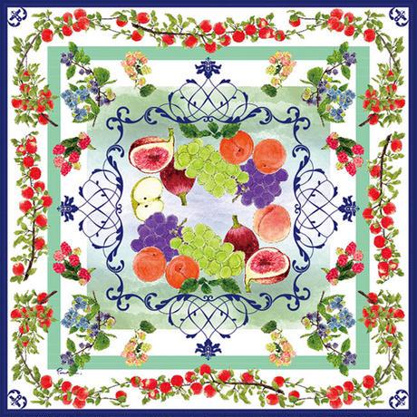 果物のスカーフ