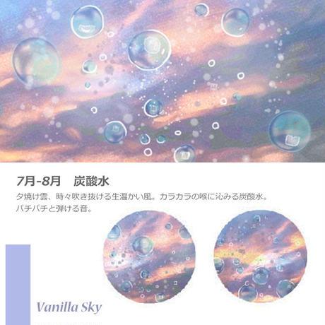 《Ponchise×mon voyage》炭酸水のイヤリング/ピアス