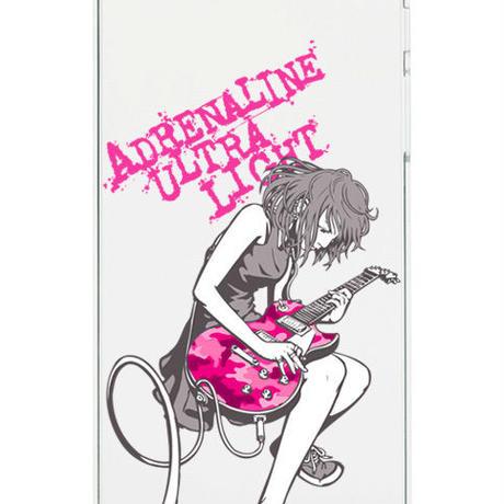 スマホハードケース GuitarGirl Pink