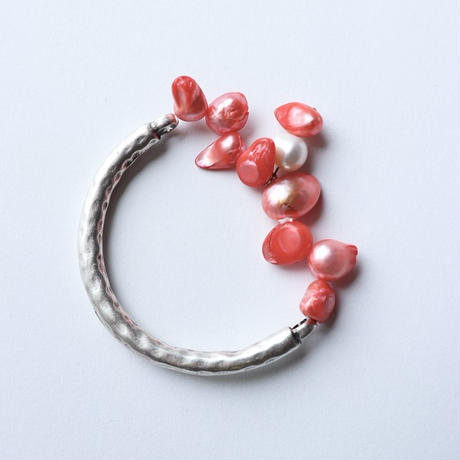 Pearl bracelet Red