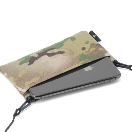 "FLAT wallet  X-pac ""Camo"""