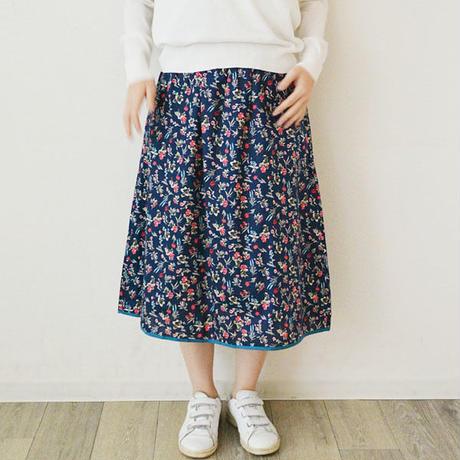 花柄プリントギャザースカート(PH9230)