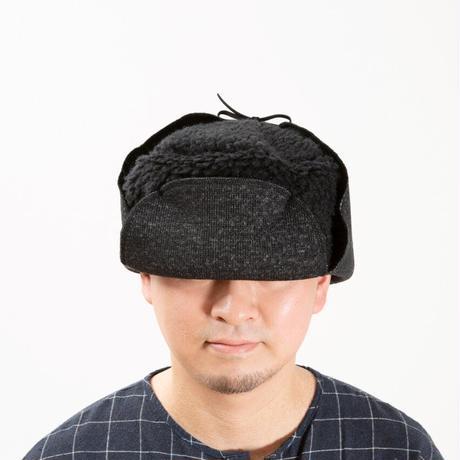 ロシアンボアサウナハット ブラック