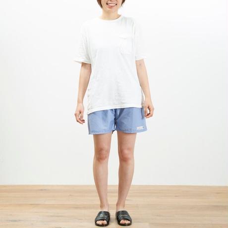 """【限定生産】 NW別注サウナパンツ """"あの毛布"""" ライトブルー/セージ"""