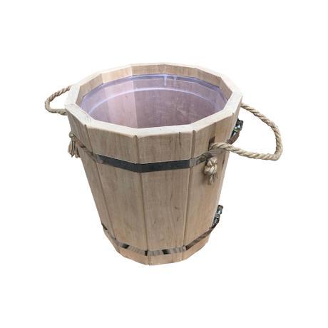【受注&送料着払】Rope handle Big Sauna Bucket