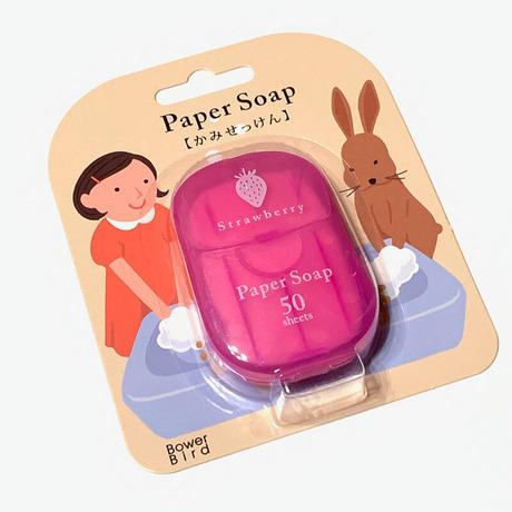 紙せっけん(ストロベリーの香り)
