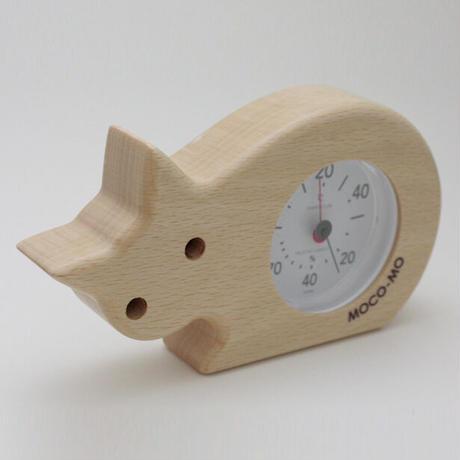 MOCO-MO 温湿度計 ねこ
