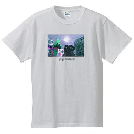 """AR SHIBUYA T-shirts """"WHITE"""""""