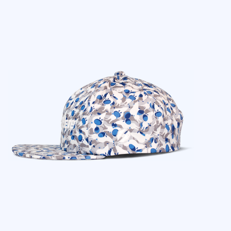 "PATTERNED ALL OVER SNAPBACK CAP""Get up"""