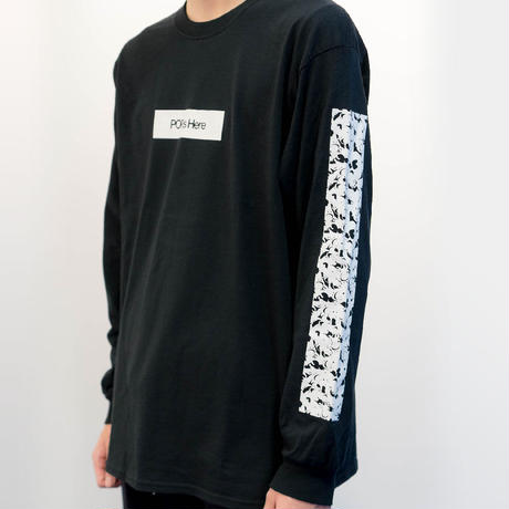 "HACKALL Long Sleeve T-shirts ""BLACK"""