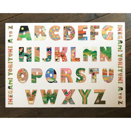 Yoriyuki Ikegami A3ポスター'A to Z'