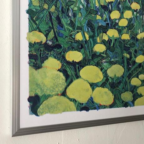 Yoriyuki Ikegami|A2 RISOポスター「花畑」